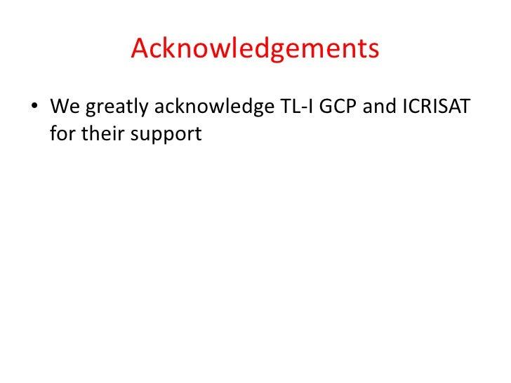 TLI 2012: Data management for groundnut breeding - Tanzania