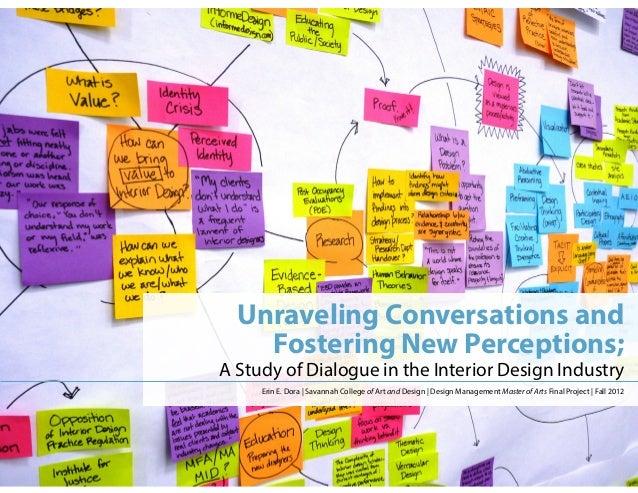 Design Management MA Final Project Presentation Amazing Interior Design Management