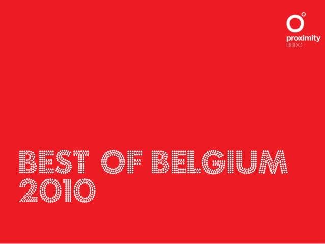 Best of BELgium 2010