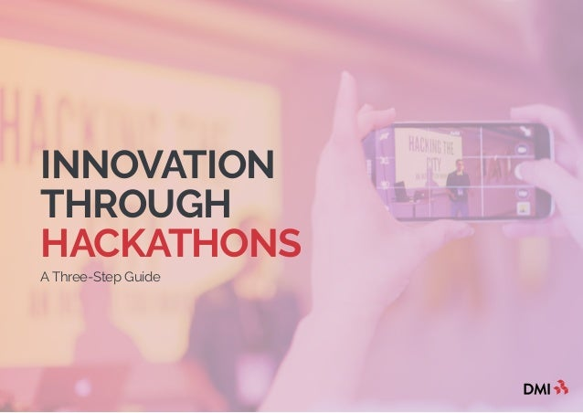INNOVATION THROUGH HACKATHONS A Three-Step Guide