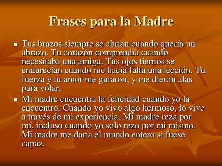 Frases De Aniversario Para Mi Amiga: El Dia De La Madre