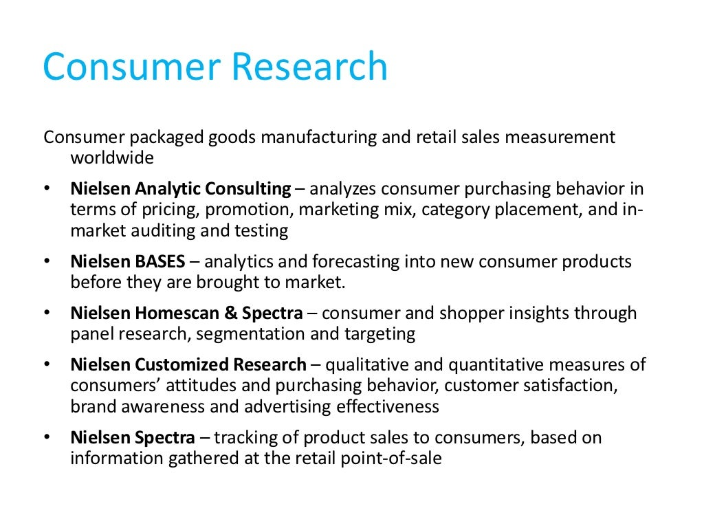 what is the nielsen media research company