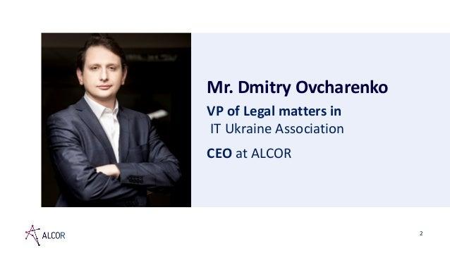 Dmitry ovcharenko   it in ukraine the opportunity  london 2 Slide 2