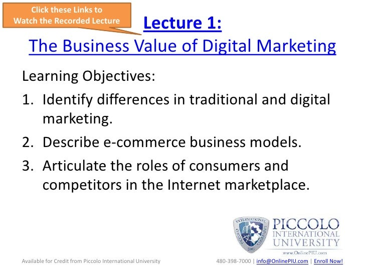 marketing 101 lecture notes Marketing communications lecture 1 introduction marketing communications theory marketing communications industry ethics in marketing communications.