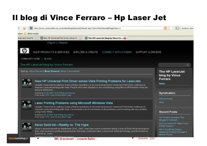 Il blog di Vince Ferraro – Hp Laser Jet
