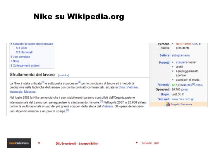 Nike su Wikipedia.org