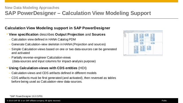 Dmm203 – new approaches for data modelingwith sap hana