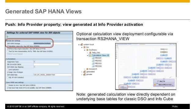 Dmm300 – mixed scenarios for sap hana data warehousing and BW: overvi…