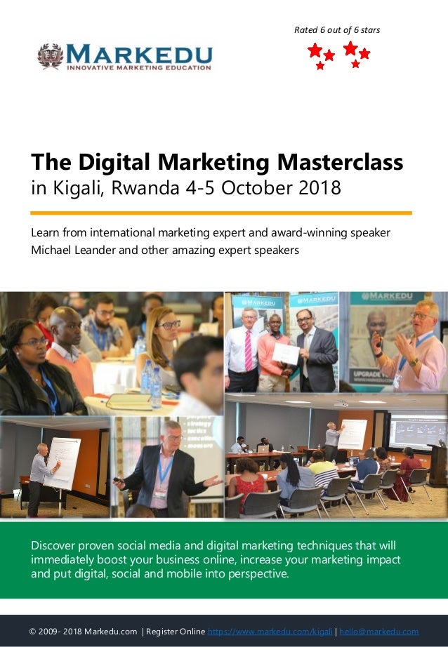 Learn from international marketing expert and award-winning speaker Michael Leander and other amazing expert speakers The ...