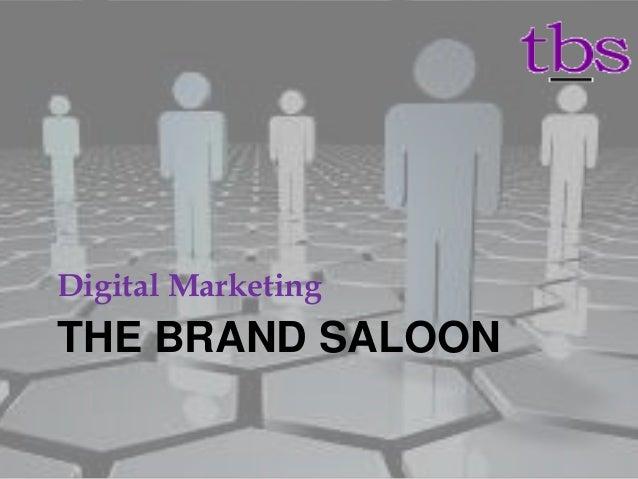 THE BRAND SALOON Digital Marketing