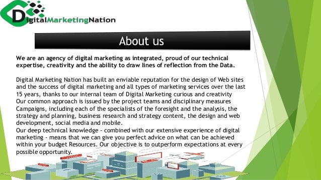 We are an agency of digital marketing as integrated, proud of our technical expertise, creativity and the ability to draw ...