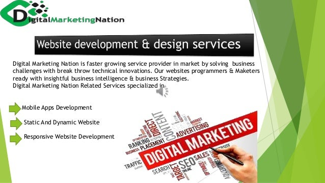 Digital Marketing Nation is faster growing service provider in market by solving business challenges with break throw tech...
