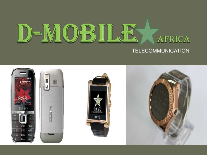 D-MOBILEAFRICA<br />TELECOMMUNICATION <br />