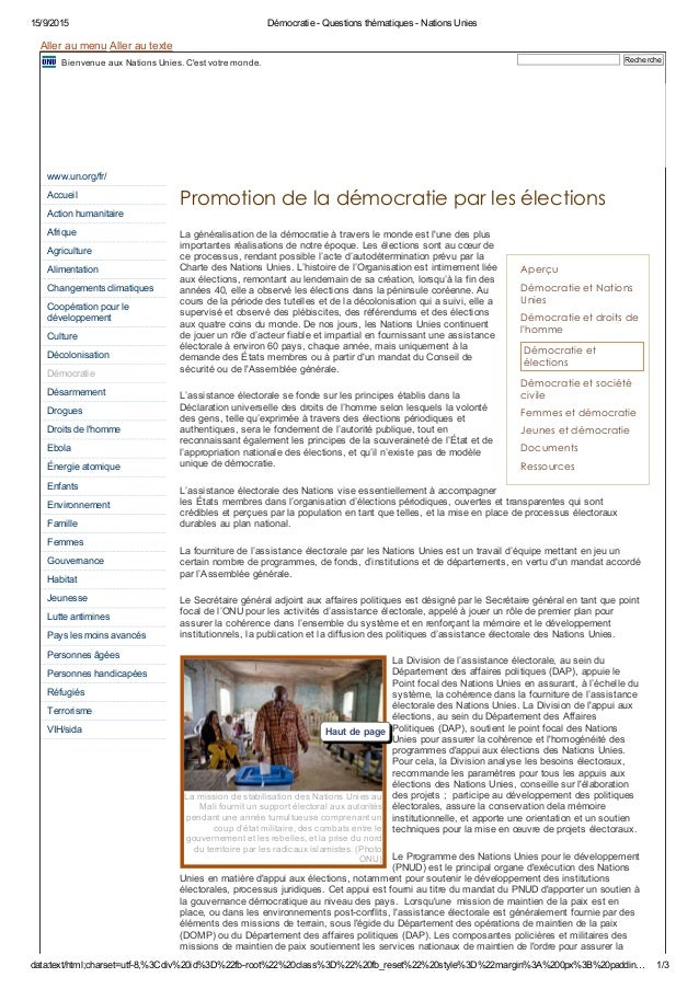 15/9/2015 Démocratie ­ Questions thématiques ­ Nations Unies data:text/html;charset=utf­8,%3Cdiv%20id%3D%22fb­root%22%20cl...