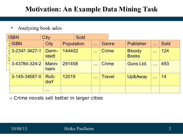 Exploiting Linked Open Data as Background Knowledge in Data Mining Slide 3