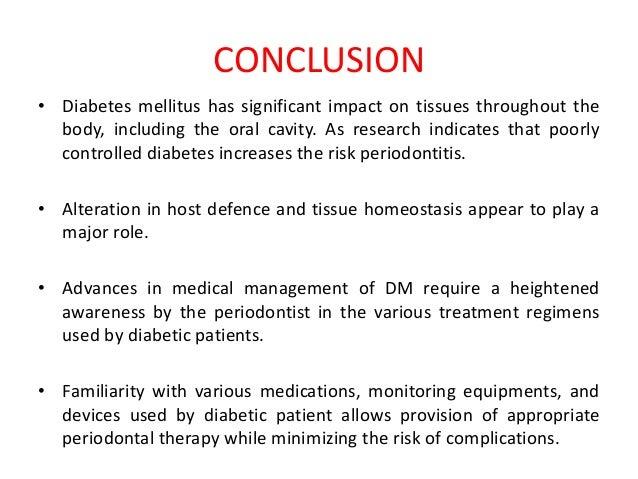 Diabetes mellitus & Periodontium