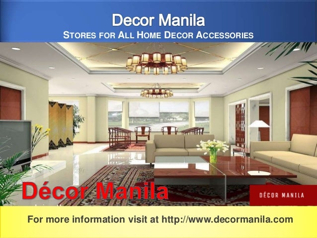 Decor Manila - Stores For All Home Decor Accessories