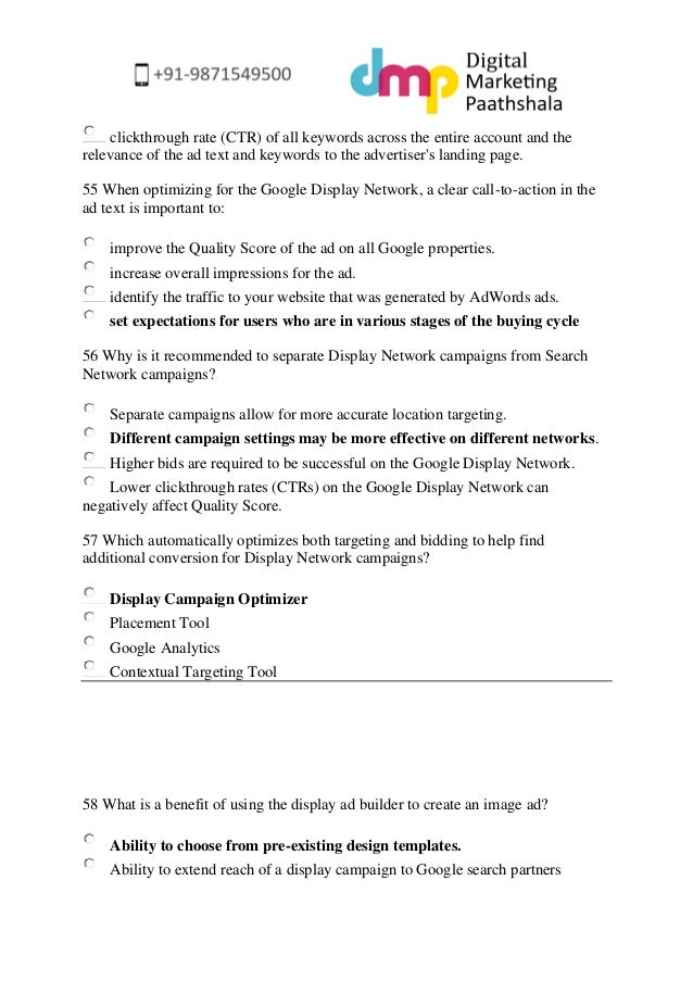 exam cover page template
