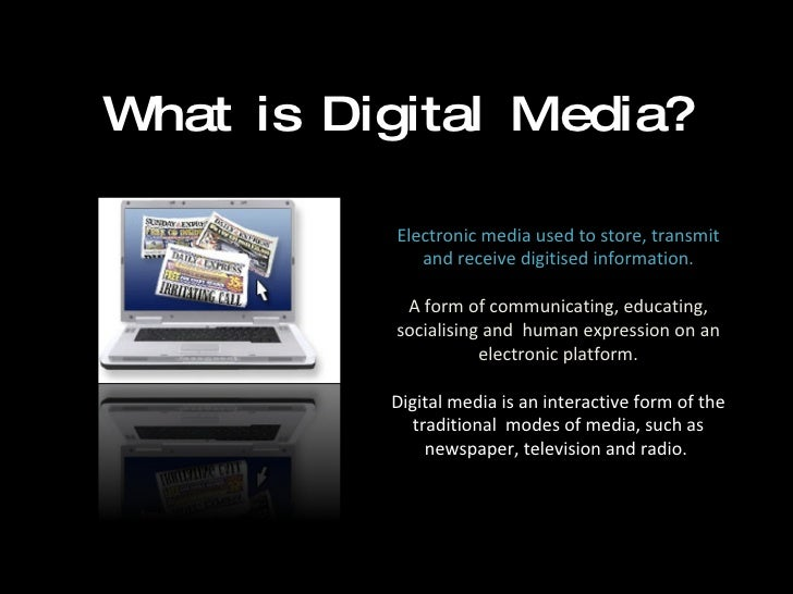 impacts of electronic media