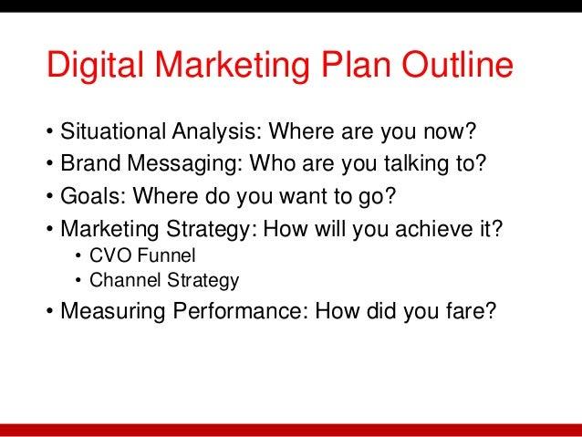 Crafting a Digital Marketing Plan Slide 3