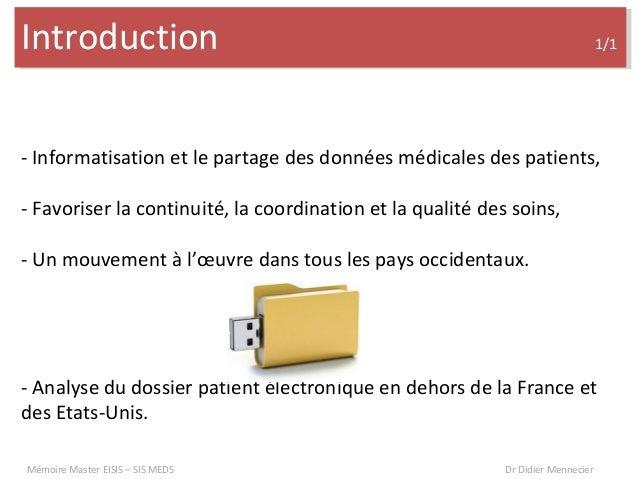 Synthèse sur les DMP hors de la France Slide 2