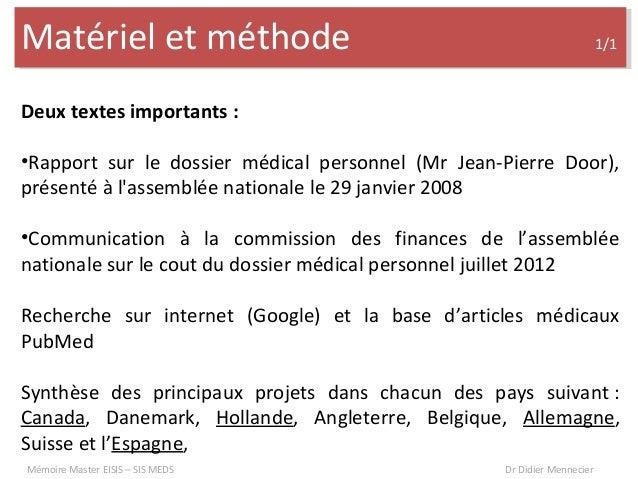 Synthèse sur les DMP hors de la France Slide 3