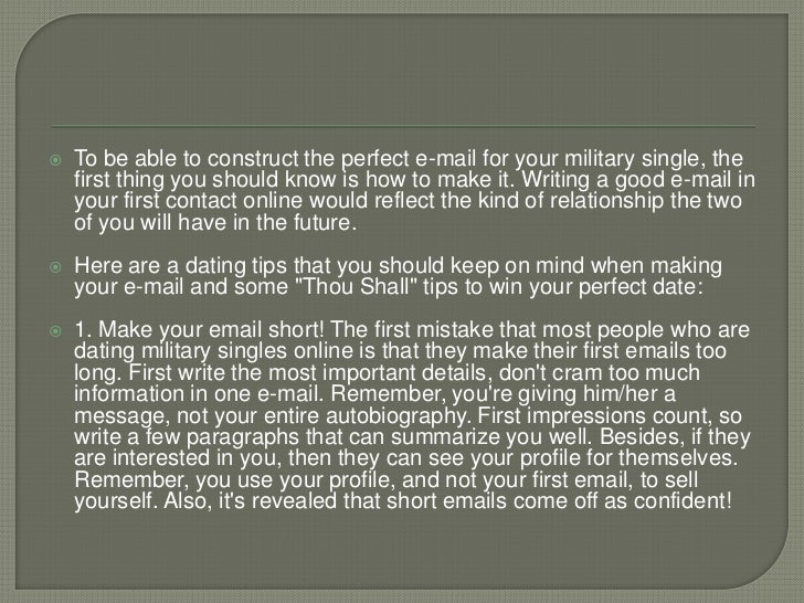 Dating Military Pen Pals?