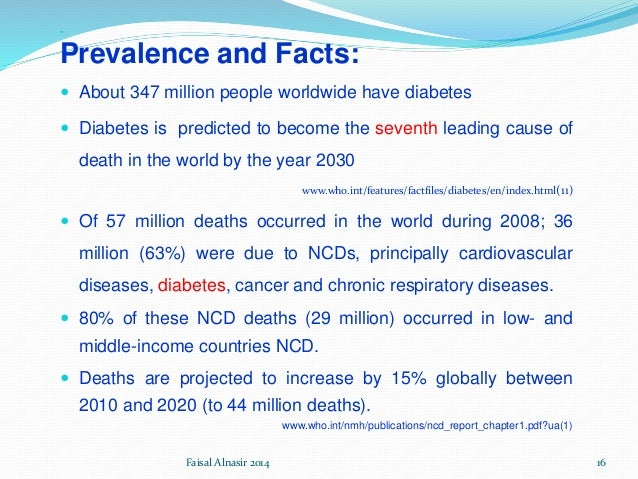 diabetes mellitus as the seventh leading cause of all death Diabetes can cause serious health complications including heart disease, blindness, kidney failure, and lower-extremity amputations diabetes is the seventh leading cause of death in.