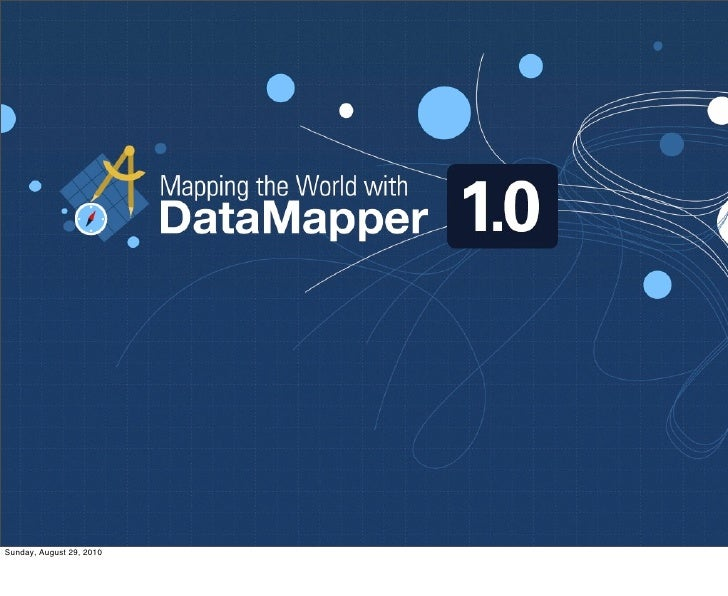 Mapping the world with DataMapper