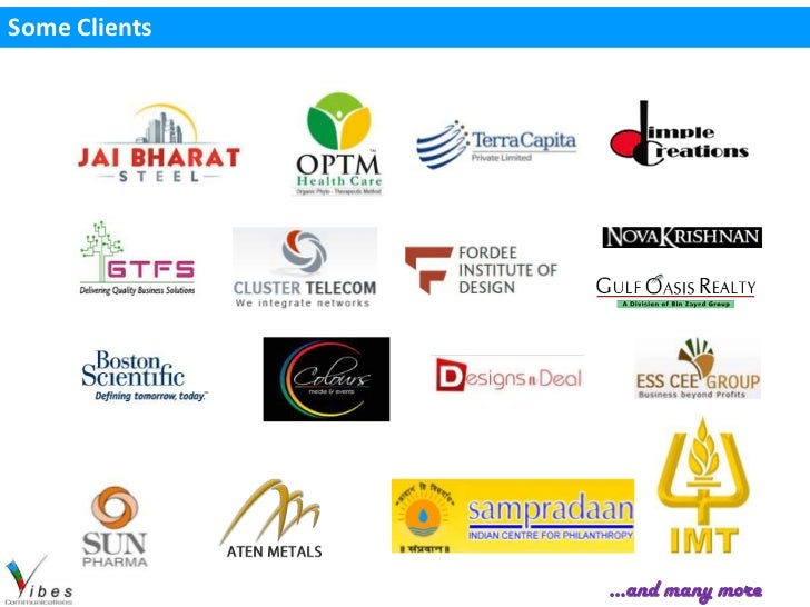 Some Clients               …and many more