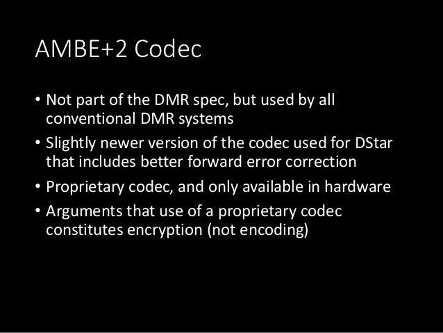 Introduction to Amateur DMR