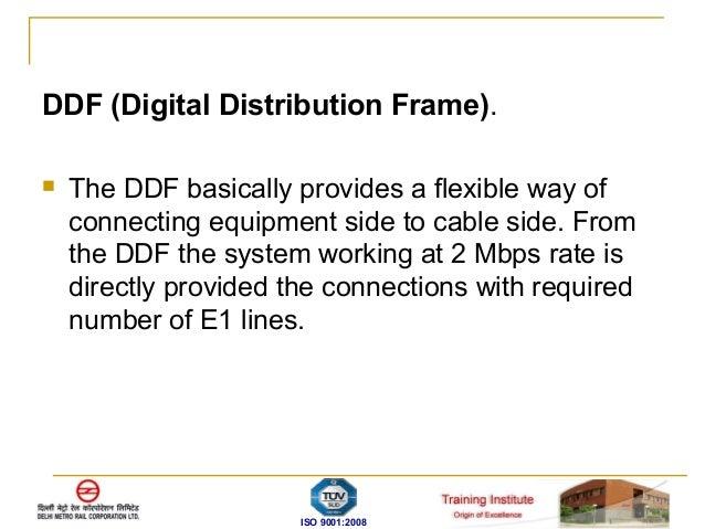 Dmrc Fiber Optics Transmission System