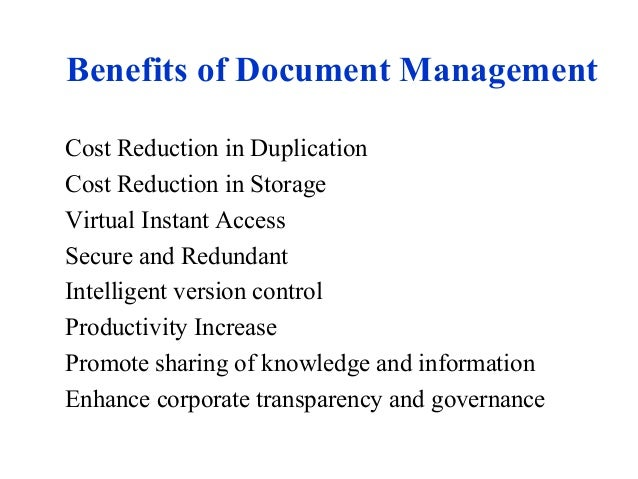 Document Management System Overview