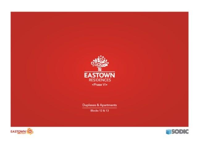 Eastown 6 duplex , Zayed City , EGYPT