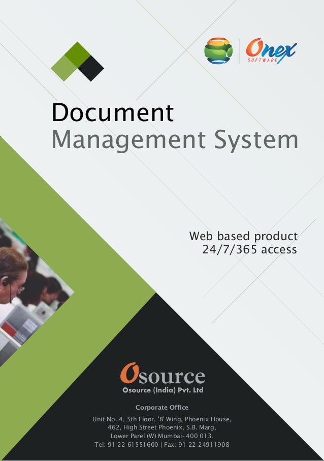 Document Management Software Brochure