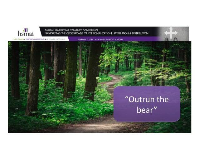 """Outrunthe bear"""