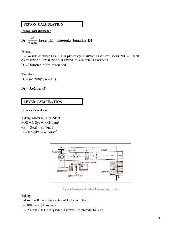 Hand pump design cylinder calculation 9 ccuart Choice Image