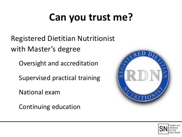 Can You Trust It How To Find Credible Nutrition Information