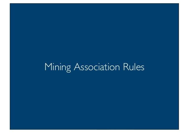 Prof. Pier Luca Lanzi Mining Association Rules 12