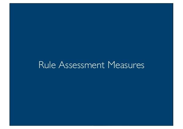 Prof. Pier Luca Lanzi Rule Assessment Measures
