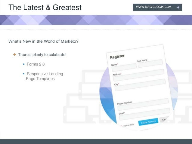 Marketo Forms And Responsive Landing Page Templates - Marketo landing page templates