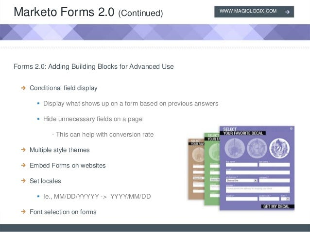 Marketo - Forms 2.0 and Responsive Landing Page Templates