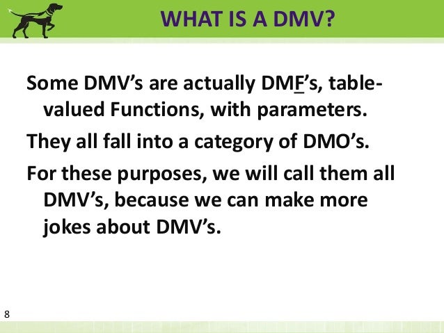 SQL Server Admin Best Practices with DMV's