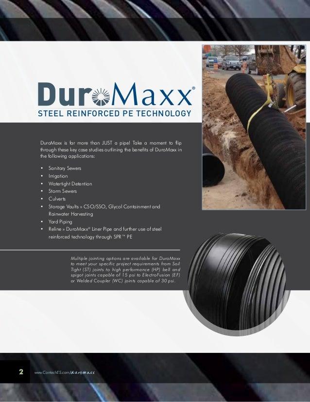 Contech DuroMaxx Steel Reinforced Polyethylene Slide 2