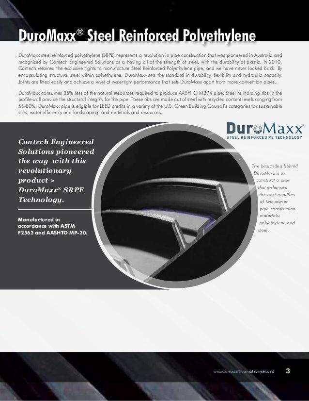 Contech DuroMaxx Steel Reinforced Polyethylene Slide 3