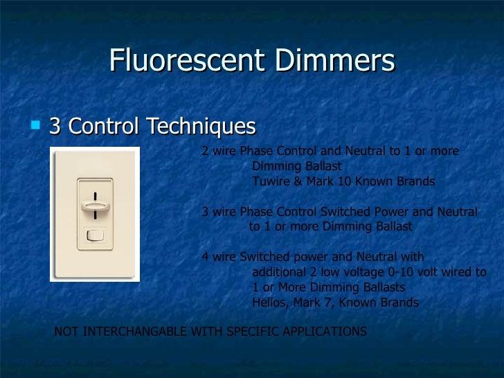 dmx512 lightng contrl design 53 fluorescent dimmers 3 control techniques 2 wire