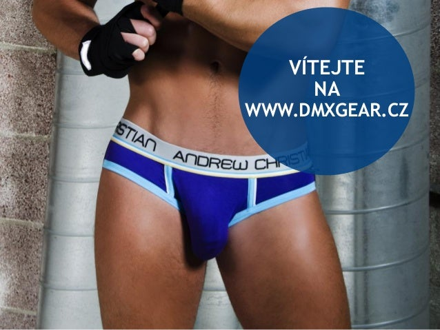 DMXgear mens underwear eshop in the CZ Slide 2