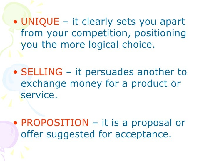 unique selling proposition of sony Selling your value proposition is  they help companies translate their unique value proposition into a set  translate it into a selling proposition and.