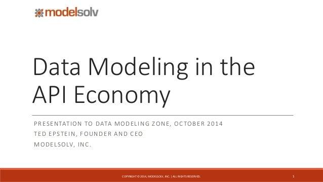 Data modeling in the api economy data modeling in theapi economy presentation to data modeling zone october 2014 ted epstein malvernweather Gallery