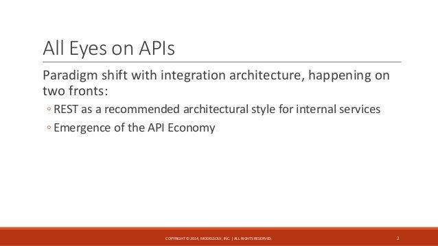 Data Modeling in the API Economy Slide 2